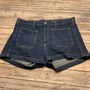 Gap 1969 Size 30 Patch Pocket Jean Shorts